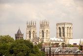 Three Towers of York Minster — Stock Photo