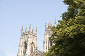 Two Towers of York Minster — Stock Photo
