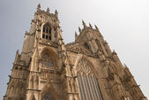 York Minster West View — Stock Photo