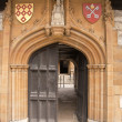 Stock Photo: Medieval Carved Stone Doorway