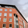 Stock Photo: Red Brick Office Block