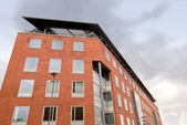 Red Brick Office Block — Stock Photo