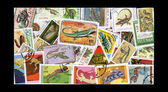 Reptile Stamps — Stock Photo