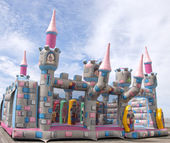Bouncy Castle — Stock Photo