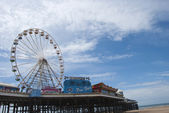 Fairground Wheel and Pier2 — Stock Photo