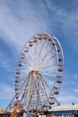 Fairground Wheel and Pier11 — Stock Photo