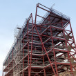 Steel Framed Building - Stock Photo