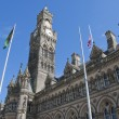 Bradford Town Hall5 - Stock Photo