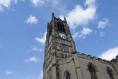 Huddersfield Church and Tower — Stock Photo