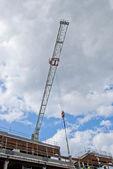 White Crane Jib — Stock Photo