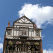 Half Timbered Pub — Stock Photo