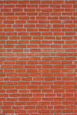 Red brick wall — Stockfoto