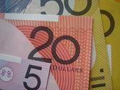 Bankbiljetten — Stockfoto