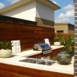 Outdoor entertaining area — Photo
