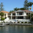 Постер, плакат: Luxury waterfront residence with private mooring
