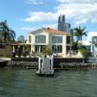 Luxury waterfront residence with private mooring — Stock Photo #6176695