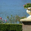 Pretty Garden Urn — Stock Photo
