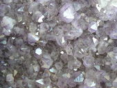 Pale Purple crystals — Stock Photo