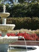 Pretty Garden Fountain — Stock Photo