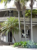 Victorian era Tropical house — Stock Photo