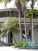 Victorian era Tropical house — Stock Photo