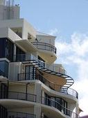Lägenhetskomplex — Stockfoto