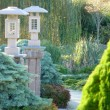Landscaped Garden Japanese Influence — Stock Photo #6222159