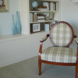 Upholstered Chair French Style — Stock Photo