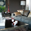 Sophisticated Modern Family Room — Stock Photo