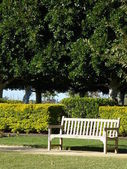 Seating in Park — Stock Photo