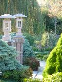 Aangelegde tuin Japanse invloed — Stockfoto