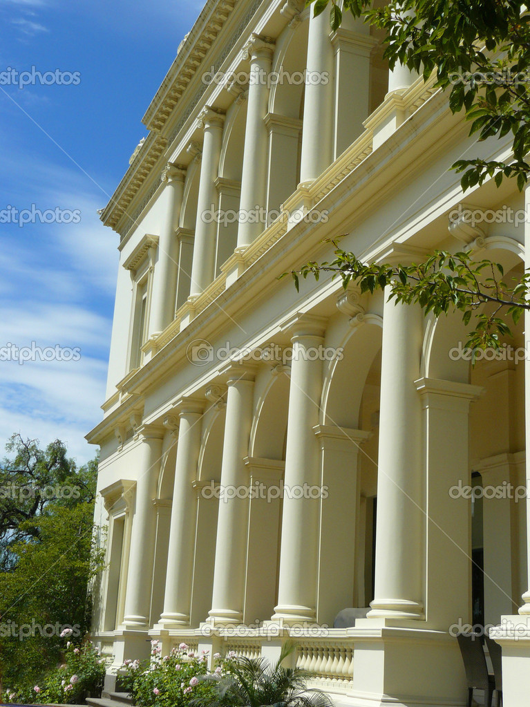 Victorian house columns stock photo scarfe 6222187 Victorian columns