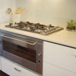 Kitchen cooking area — Stock Photo