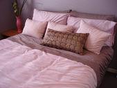 Dormitorio rosa — Foto de Stock