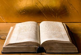Old jewish bible — Stock Photo