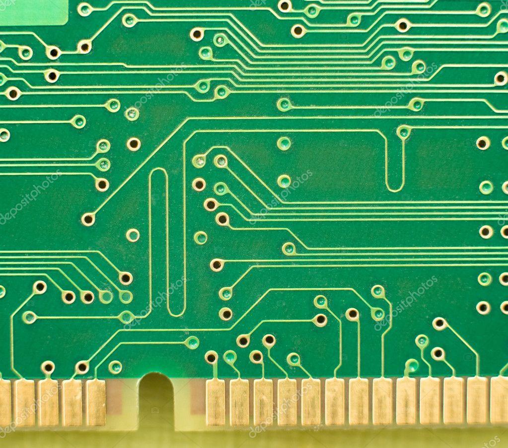 Green Circuit Board Stock Photo C Yourluckyphoto 6189285