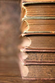 Stack of old books — Stock Photo
