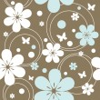 Seamless floral pattern — Stock Vector #5946929