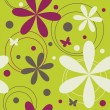 Seamless floral pattern — Stock Vector #5946962