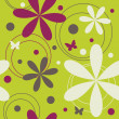 Royalty-Free Stock Obraz wektorowy: Seamless floral pattern
