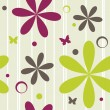 Seamless floral pattern — Stock Vector #5946978