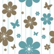 Seamless floral pattern — Stock Vector #5946985