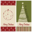 Stock Vector: Christmas card