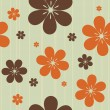 Seamless floral pattern — Stock Vector #5948712