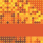 Fundo vermelho mosaico — Vetorial Stock