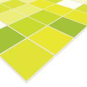 Fondo verde mosaico — Vector de stock