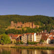 Royalty-Free Stock Photo: Heidelberger Schloss, Castle, summer 2010