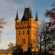 Hohenzollern castle in Swabian, Germany — Stock Photo