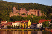 Heidelberger Castle at sundown — Stock Photo