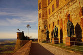 Hohenzollern castle in Swabian during autumn, Germany — Stock Photo